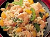 Stir Fried Shrimp With Celery And Almonds